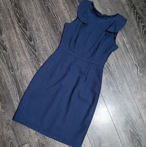 J.CREW - Flutter Shoulder Dress